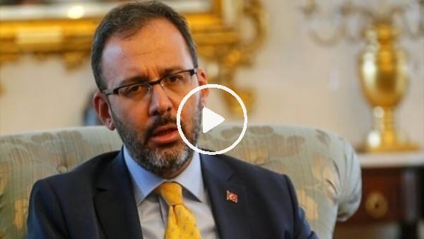'Bakan Kasapoğlu'ndan 5 büyüklü 'Evde Kal' mesajı