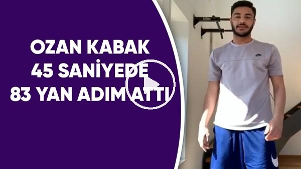 'Ozan Kabak 45 saniyede 83 yan adım attı