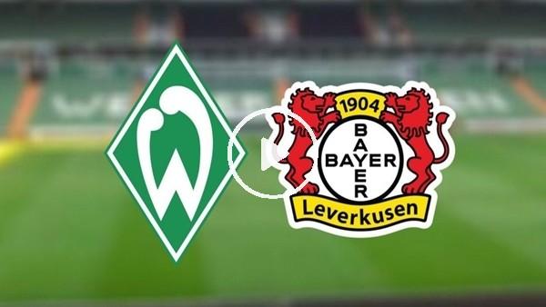'Werder Bremen - Bayer Leverkusen istatistiker ve iddaa oranları