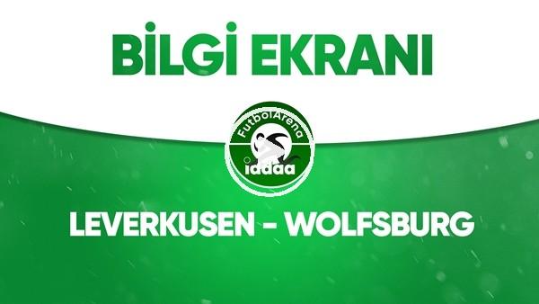 'Leverkusen - Wolfsburg Bilgi Ekranı (26 Mayıs 2020)