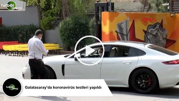 'Galatasaray'da koronavirüs testleri yapıldı