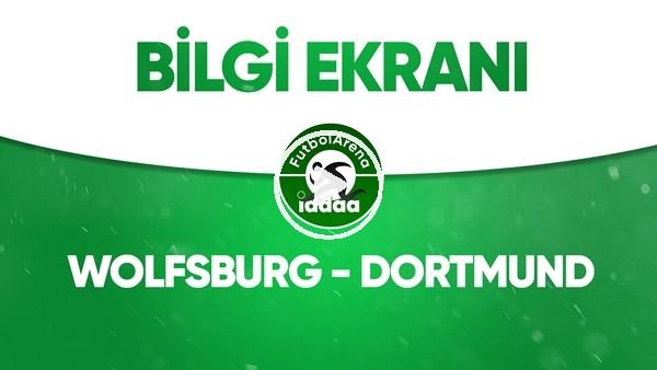 'Wolfsburg - Dortmund Bilgi Ekranı (23 Mayıs 2020)