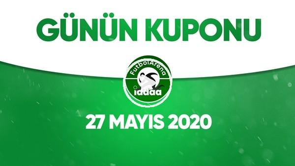 Günün İddaa Kuponu (27 Mayıs 2020)