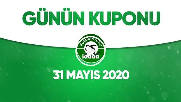'Günün İddaa Kuponu (31 Mayıs 2020)