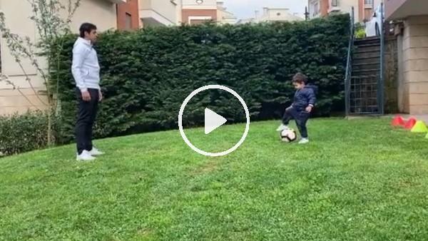 'Guilherme'nin oğluyla futbol keyfi