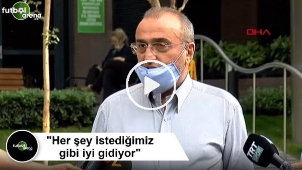 """'Abdürrahim Albayrak: """"Her şey istediğimiz gibi iyi gidiyor"""""""