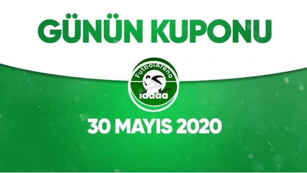 'Günün İddaa Kuponu (30 Mayıs 2020)