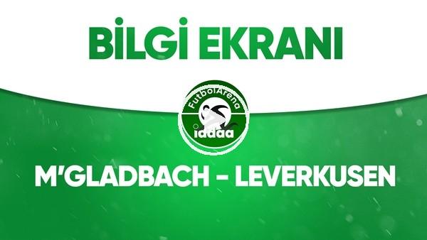 'M'Gladbach - Leverkusen Bilgi Ekranı (23 Mayıs 2020)