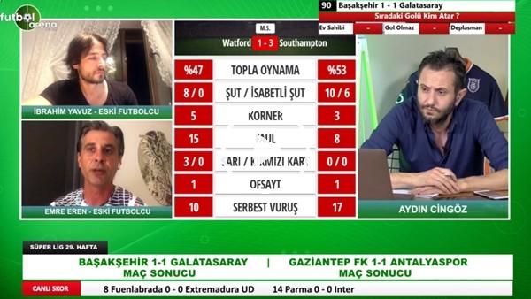'Başakşehir - Galatasaray Maçından Öne Çıkan Notlar