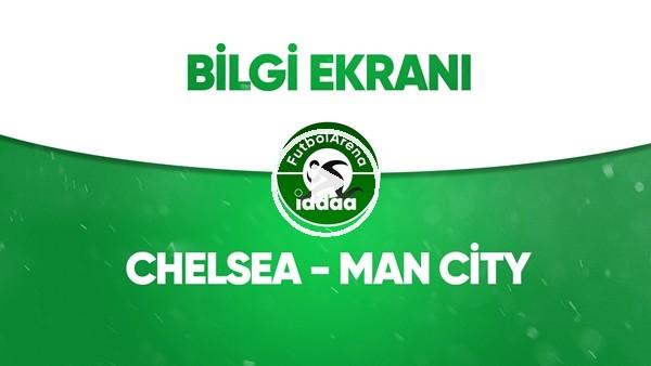 'Chelsea - Manchester City Bilgi Ekranı (25 Haziran 2020)