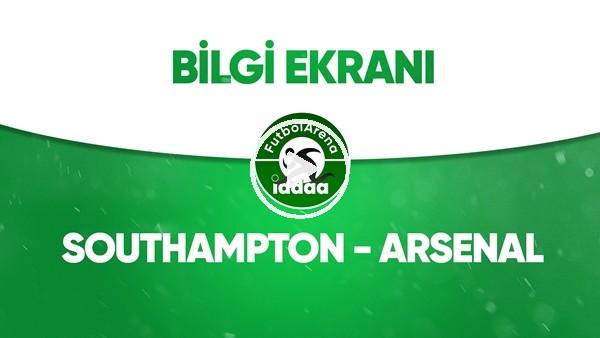 Southampton - Arsenal Bilgi Ekranı (25 Haziran 2020)