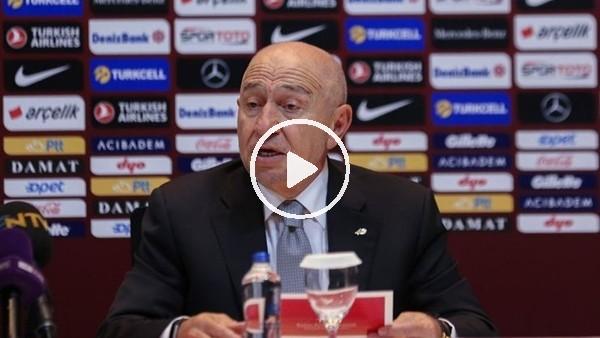"""'Nihat Özdemir: """"Kulüpler bu süreçte çok disiplinli olmalı"""""""