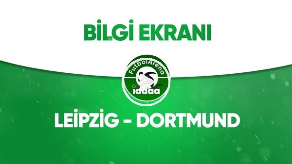 'Leipzig - Dortmund Bilgi Ekranı (20 Haziran 2020)
