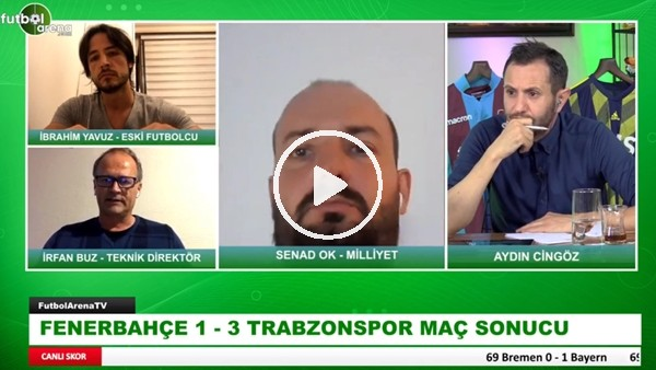 Fenerbahçe - Trabzospor Maçından Öne Çıkan Notlar | İrfan Buz Aktardı