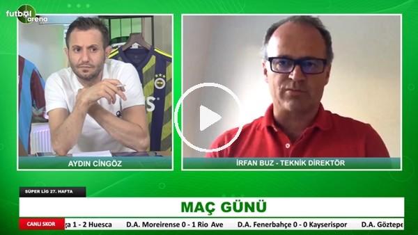 'Göztepe - Trabzonspor Maçının İlk Yarısından Öne Çıkan Notlar | İrfan Buz Aktardı