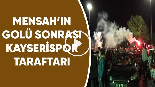 'Mensah'ın golü Sonrası Kayserispor Taraftarları Büyük Sevinç Yaşadı