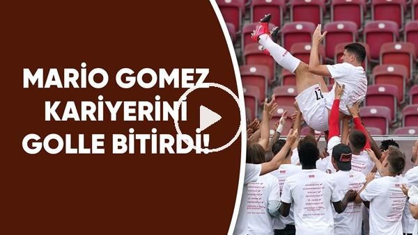 'Mario Gomez Kariyerini Golle Bitirdi!