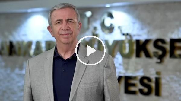 Mansur Yavaş'tan Ankaragücü'ne destek paylaşımı