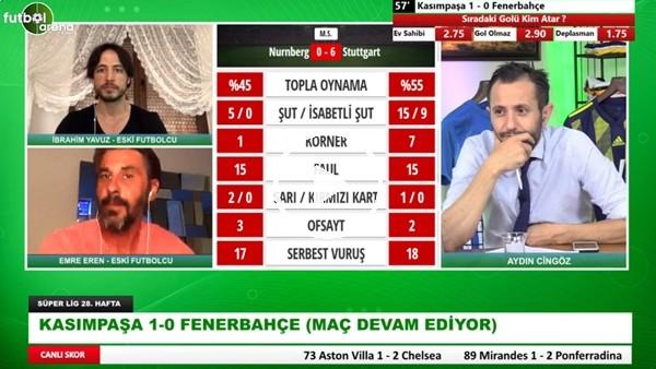 """'Emre Eren: """"Fenerbahçe'de 5 Tane Stoper Var Bir Tanesi İş Yapmıyor"""""""