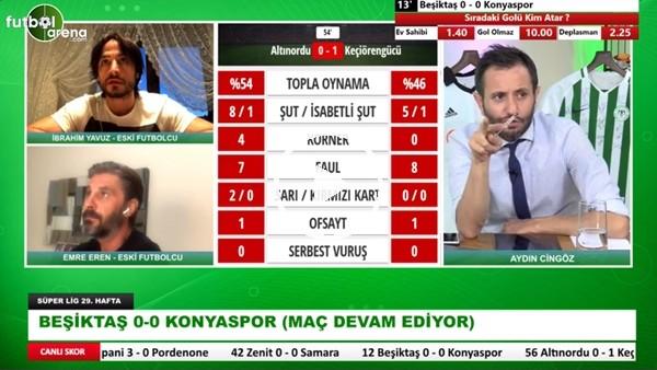 """'İbrahim Yavuz: """"Beşiktaş Kontra Ataklardan Sıkıntı Yaşayabilir"""""""