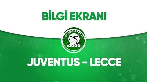 Juventus - Lecce Bilgi Ekranı (26 Haziran 2020)