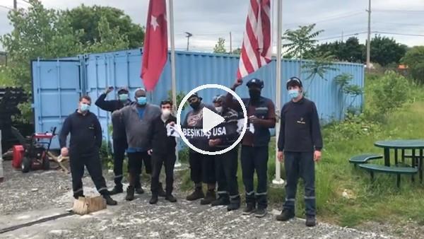 'Beşiktaş USA Derneği'nden ırkçılığa karşı protesto