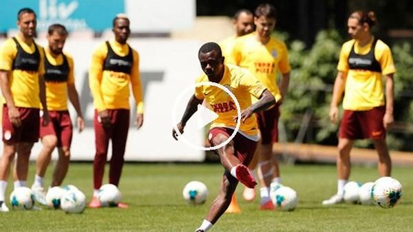 'Galatasaray orta, şut ve bitiricilik çalıştı