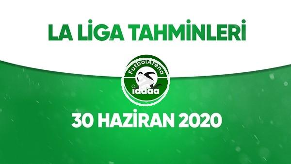 La Liga Tahminleri (30 Haziran 2020)
