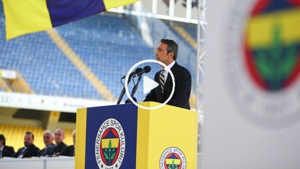 ' Ali Koç 2 yıl önce bugün Fenerbahçe Başkanı oldu