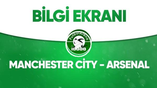 Manchester City - Arsenal Bilgi Ekranı (17 Haziran 2020)