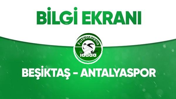 Beşiktaş - Antalyaspor Bilgi Ekranı (13 Haziran 2020)