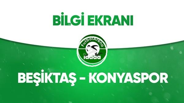 'Beşiktaş - Konyaspor Bilgi Ekranı (26 Haziran 2020)