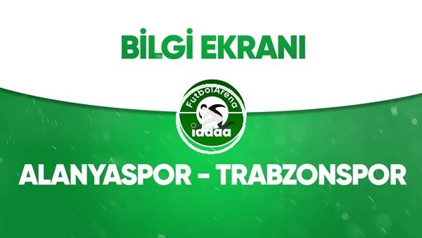 'Alanyaspor - Trabzonspor Bilgi Ekranı (22 Haziran 2020)