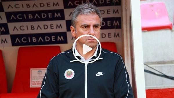 """'Hamza Hamzaoğlu: """"Maçta iyi oynadık ama sonuçlandıramadık"""""""