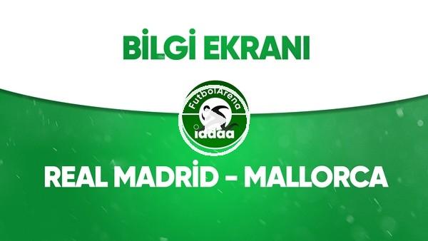 'Real Madrid - Mallorca Bilgi Ekranı (24 Haziran 2020)
