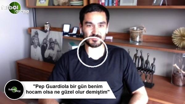"""'İlkay Gündoğan: """"Pep Guardiola bir gün benim hocam olsa ne güzel olur demiştim"""""""