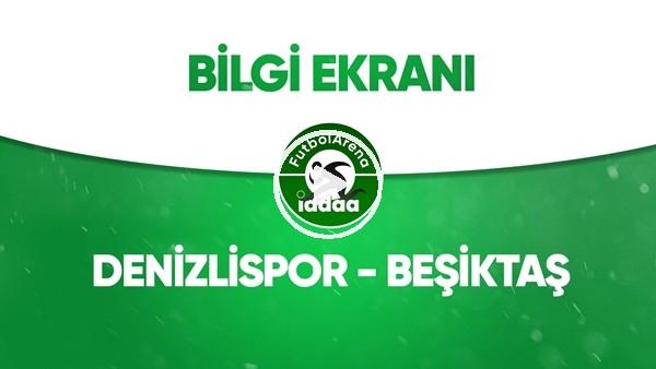 'Denizlispor - Beşiktaş Bilgi Ekranı (20 Haziran 2020)