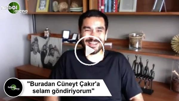 """'İlkay Gündoğan'dan Cüneyt Çakır sözleri! """"Buradan selam gönderiyorum"""""""