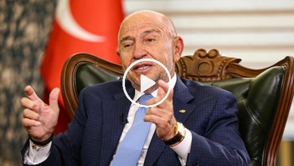 """Nihat Özdemir'e """"Şike tartışmalarını bitirmek için nasıl yol izleyeceksiniz?""""soruldu."""