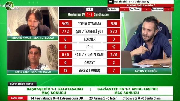 'Fatih Terim, Galatasaray'ın Başında Olsa Maç Kaç Kaç Biterdi? Emre Eren Ve İbrahim Yavuz Yorumladı
