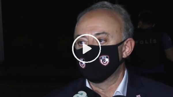 """'Gaziantep FK Asbaşkanı Müslüm Özmen: """"Galibiyeti biz kaçırdık"""""""