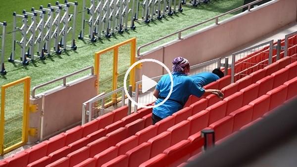'Göztepe Stadı, Trabzonspor maçına hazır
