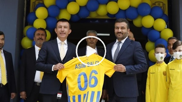 Ankaragücü'nde Tandoğan Tesisleri'nin açılışı yapıldı