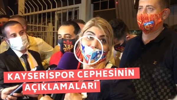 'Berna Gözbaşı Ve Mustafa Tokgöz'ün Beşiktaş Maçı Sonrası Açıklamaları
