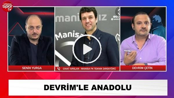 """'Cihan Arslan:""""Manisa FK'nın hayalleri ve beklentisi büyük"""""""