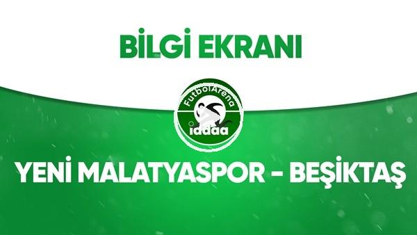 'Yeni Malatyaspor - Beşiktaş Bilgi Ekranı (13 Temmuz 2020)