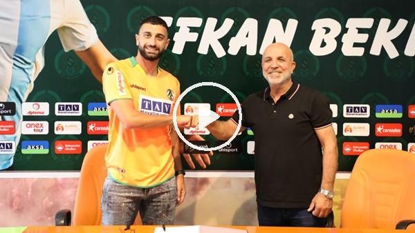 'Aytemiz  Alanyaspor, Efkan Bekiroğlu ile sözleşme imzaladı