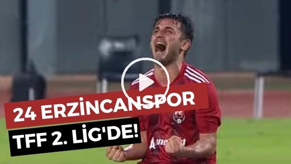 24 Erzincanspor TFF 2. Lig'de!