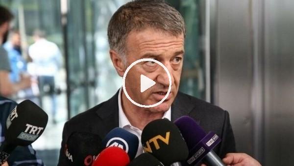 """'Ahmet Ağaoğlu: """"Madem küme düşme olmayacaktı maçlar neden oynandı?"""""""