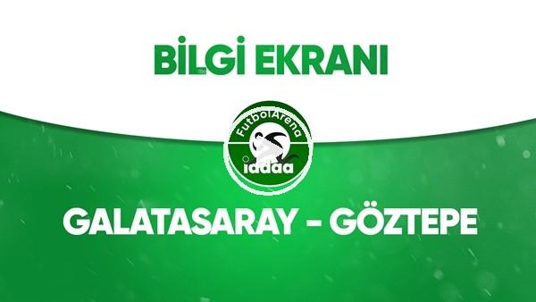 Galatasaray - Göztepe Bilgi Ekranı (18 Temmuz 2020)